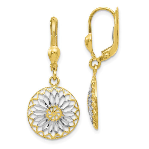 10LE277 | Gold Hoops | Payroll Jewelry