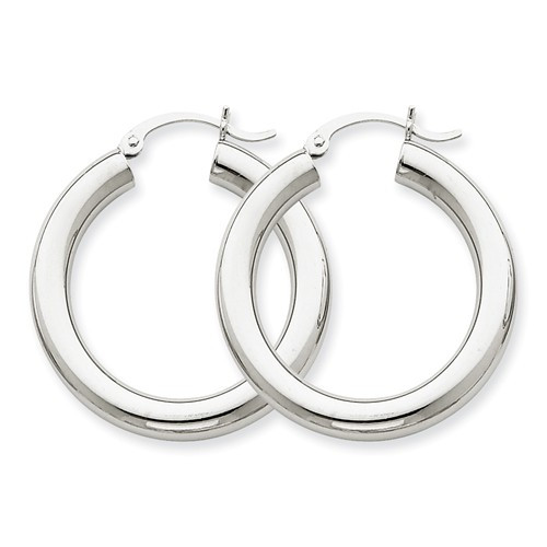 10T860 | Gold Hoop Earrings | Payroll Jewelry