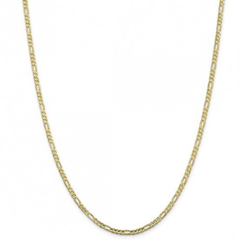 10FG080-24   Gold Figaro Chain - 24 inch   Payroll Jewelry