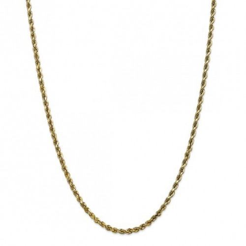 3.5mm Rope Chain | 10K Yellow Gold | 22 Inch