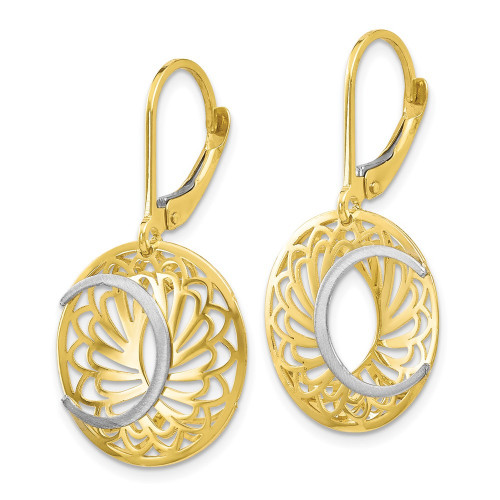 10LE209   Gold Hoops   Payroll Jewelry