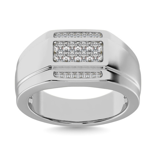 GR28048W   Mens Rings White   Payroll Jewelry