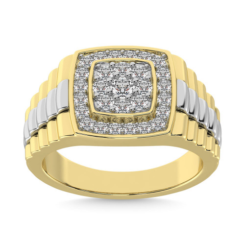 GR57622Y | Mens Rings Yellow | Payroll Jewelry