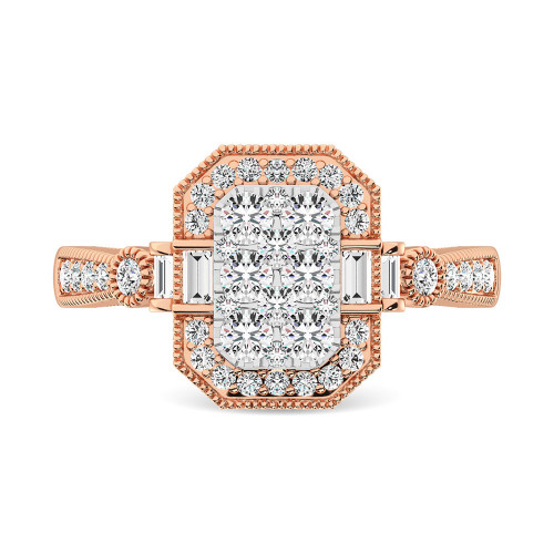 WSF61777PW   Halo Rings   Payroll Jewelry