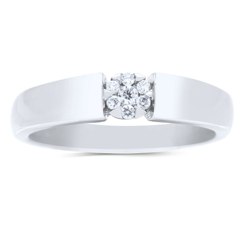 WB7127W | White Gold Ladies Ring | Payroll Jewelry