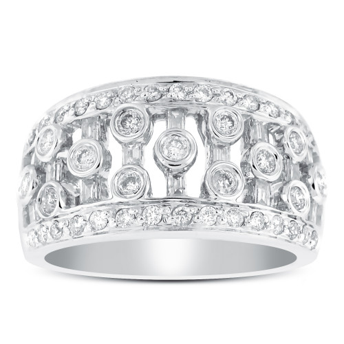 WLB59403W | White Gold Ladies Ring | Payroll Jewelry