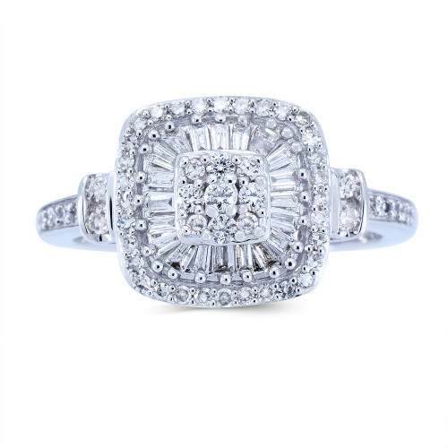 WLR198W   Halo Rings   Payroll Jewelry