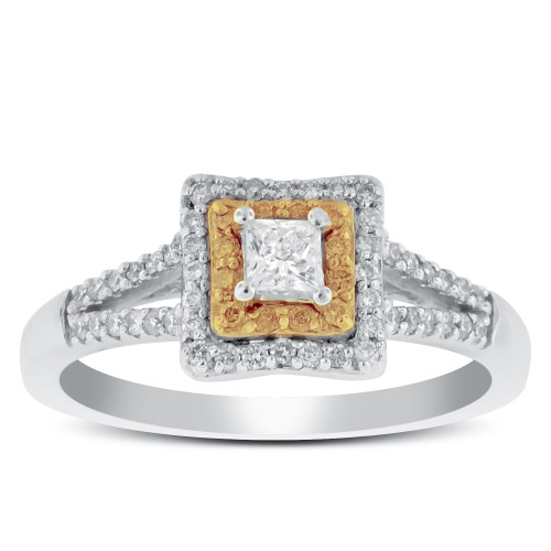 WS56217W   Halo Ladies Engagement Ring   Payroll Jewelry