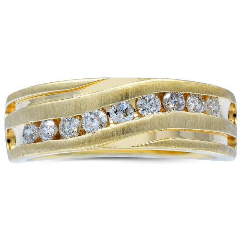 GR9273Y   Yellow Gold Mens Ring   Payroll Jewelry