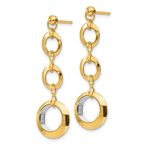 LE1461 | Gold Hoops | Payroll Jewelry