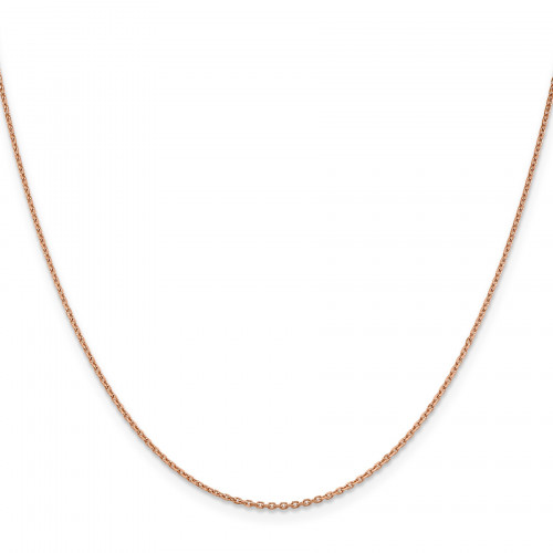 RSC21-24   Rose Gold Cable Chain   Payroll Jewelry