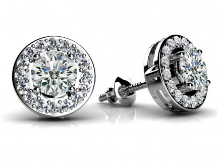 ST990-66 | Cluster Earrings | Payroll Jewelry