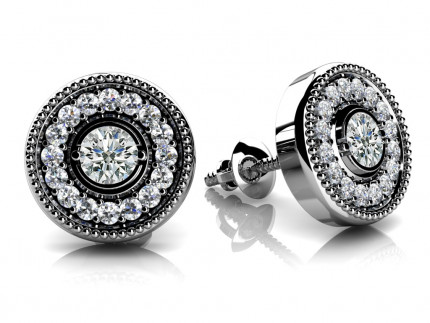 ST994-30 | Cluster Earrings | Payroll Jewelry