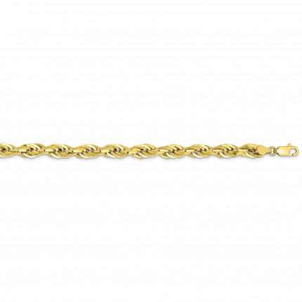 10BC170-22 | Gold Rope Chain - 22 inch | Payroll Jewelry