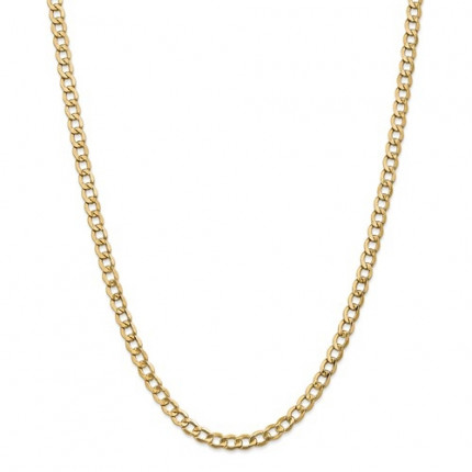 10KBC108-2 | Gold Curb Chain - 24inch | Payroll Jewelry