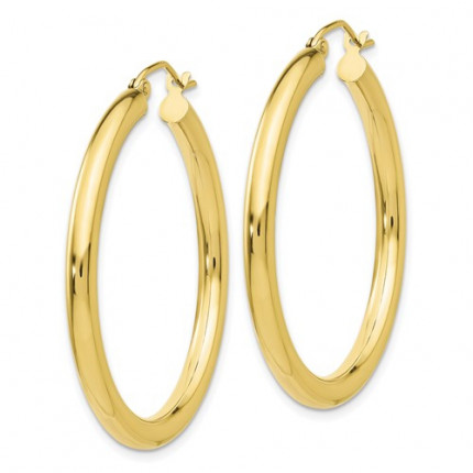 10T935 | Gold Hoop Earrings | Payroll Jewelry