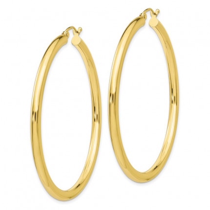 10T943 | Gold Hoop Earrings | Payroll Jewelry