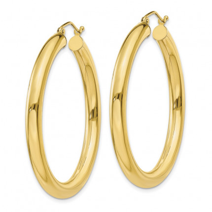 10T947 | Gold Hoop Earrings | Payroll Jewelry