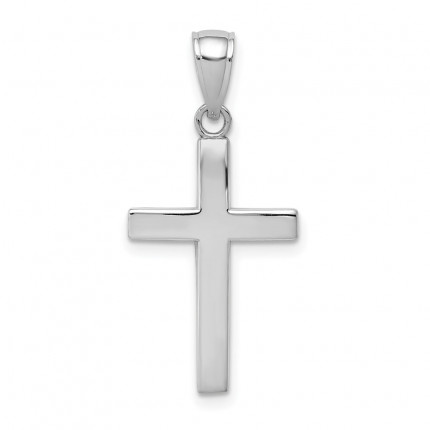 10XR564W | Gold Cross Pendant | Payroll Jewelry