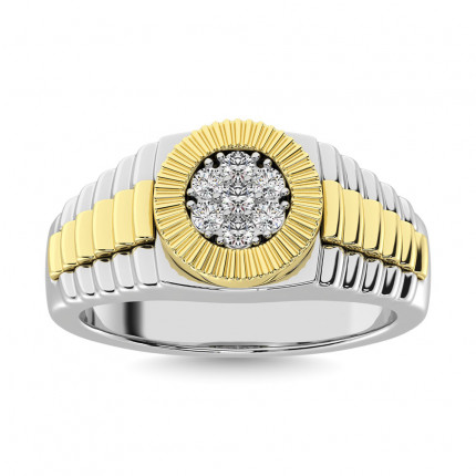 GR27719WY-A2   Mens Rings White   Payroll Jewelry