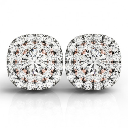 CJ41001P-1/2 | Cluster Earrings. | Payroll Jewelry