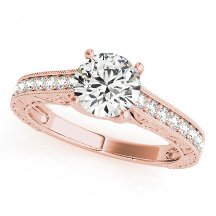 WS50648R | Side Stone Engagement Ring | Payroll Jewelry