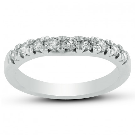 50787W-WB | White Gold Band | Payroll Jewelry