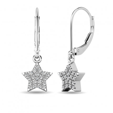 ER63240W-E | Cluster Earrings | Payroll Jewelry