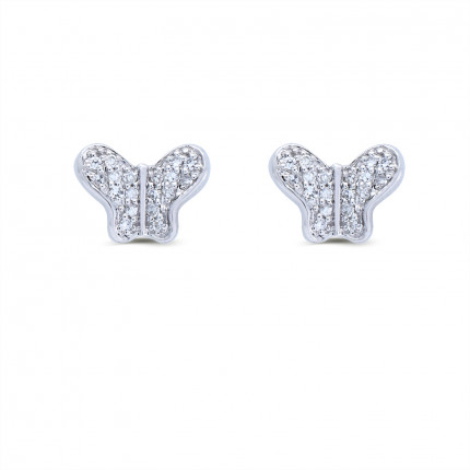 ER14994W | Cluster Earrings | Payroll Jewelry