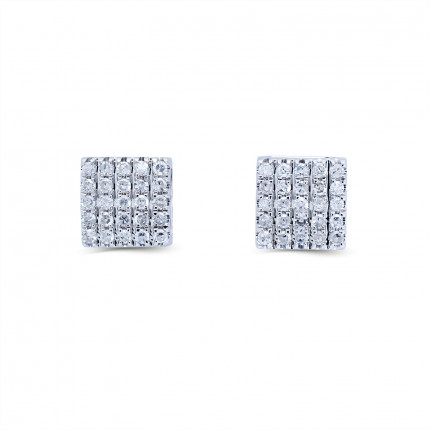 ER15172W | Cluster Earrings | Payroll Jewelry