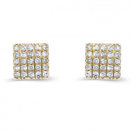 ER15172Y | Cluster Earrings | Payroll Jewelry