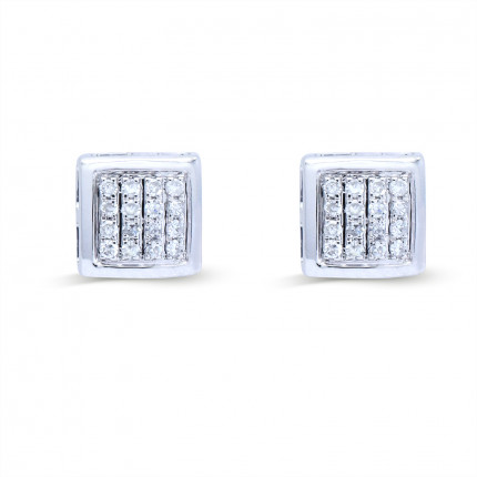 ER15188W | Cluster Earrings | Payroll Jewelry