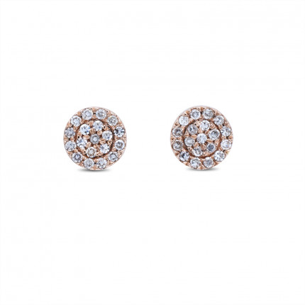 ER15229R | Cluster Earrings | Payroll Jewelry