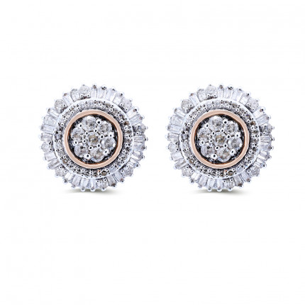 ER178P | Cluster Earrings | Payroll Jewelry
