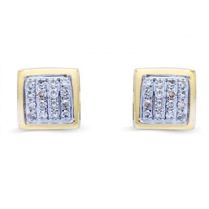 ER415188Y | Cluster Earrings | Payroll Jewelry