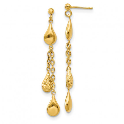 LE1578 | Gold Hoops | Payroll Jewelry