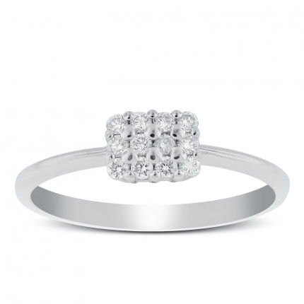 LR12158W | White Gold Ladies Ring | Payroll Jewelry