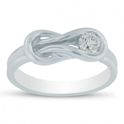 LR1221W | White Gold Ladies Ring | Payroll Jewelry