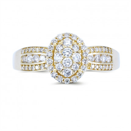 LR231Y | Halo Rings | Payroll Jewelry