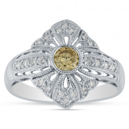 LR23211W | White Gold Ladies Ring | Payroll Jewelry