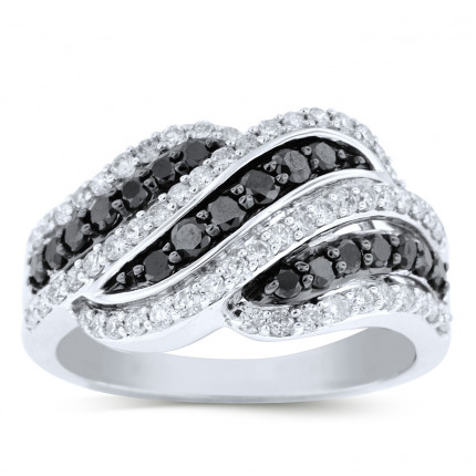 LR74322W | White Gold Ladies Ring | Payroll Jewelry