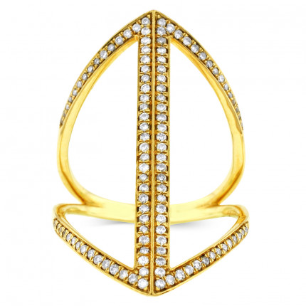 LR98225Y | Yellow Gold Ladies Ring | Payroll Jewelry