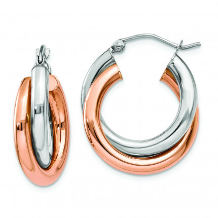 TH770 | Gold Hoop Earrings | Payroll Jewelry