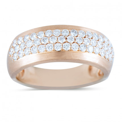 WB463P | Yellow Gold Mens Ring | Payroll Jewelry