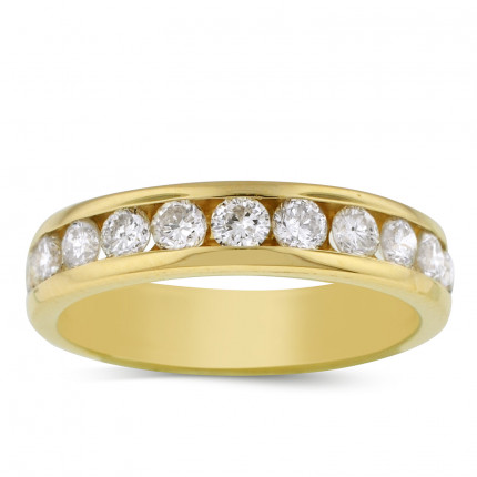 WB9550Y | Yellow Gold Band | Payroll Jewelry