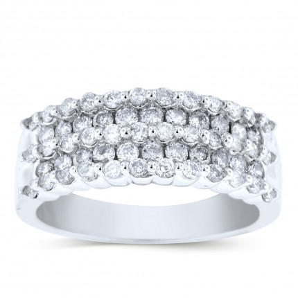 WLB102512W | White Gold Ladies Ring | Payroll Jewelry
