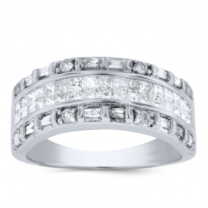 WLB56361W | White Gold Ladies Ring | Payroll Jewelry