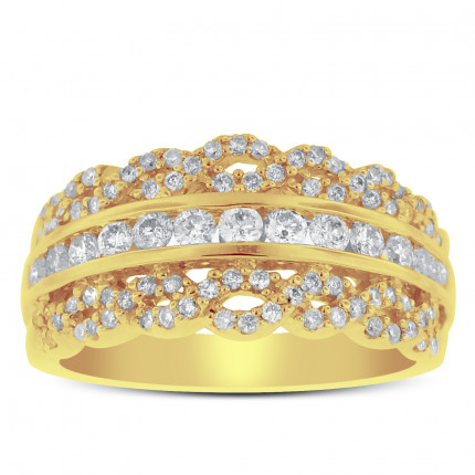 WLB97317Y | Yellow Gold Ladies Ring | Payroll Jewelry