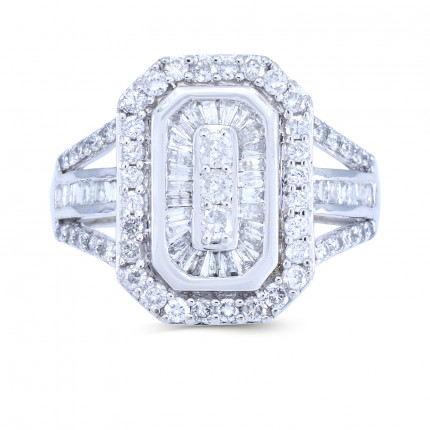 WLR189827W | Halo Rings | Payroll Jewelry