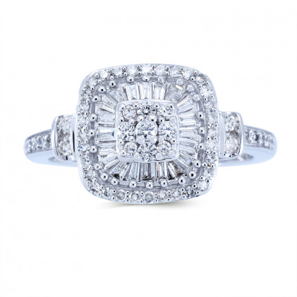 WLR198W | Halo Rings | Payroll Jewelry